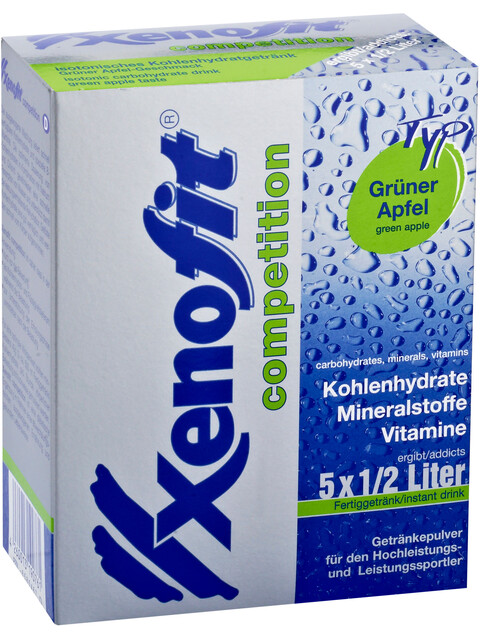Xenofit Competition Carbohydrate Drink Grüner Apfel 5 x 42g